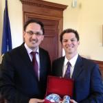 TCCME paid a visit to Senate President Justin Alfond