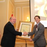 16 - Turkish Cultural Center Maine Friendship Dinner Award Ceremony Senate President Justin Alfond Prof. Mustafa Guvench