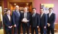 Senator Angus King Turkish Cultural Center Maine Furkan Kosar Council of Turkic American Associations CTAA